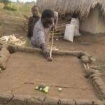 Afrikanischer Billardtisch