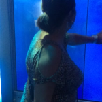 Frau �berlebt Hai-Attacke