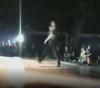 Break Dancer knockt sich aus