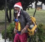Hippie-Weihnachtsmann