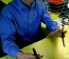 Kugelschreiber Jonglieren