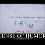 Lehrer und ihr Sinn f�r Humor