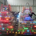 Polizei auf Weihnachtsstreife