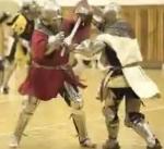 Spartaner vs. Ritter