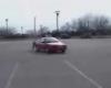 Sprung �bers Auto