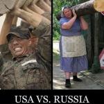 USA vs. Russland