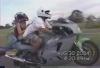Vom Motorrad gefallen