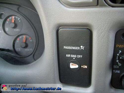 airbag f r den beifahrer. Black Bedroom Furniture Sets. Home Design Ideas
