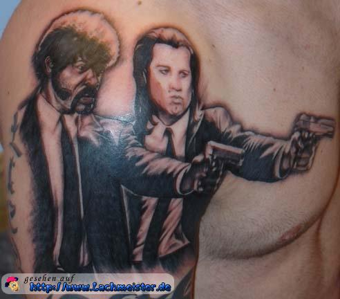 Pulp Fiction Tattoo