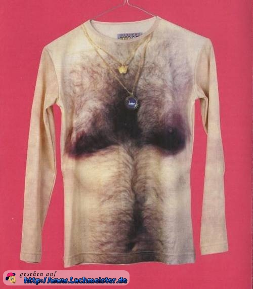 Brusthaar-Shirt