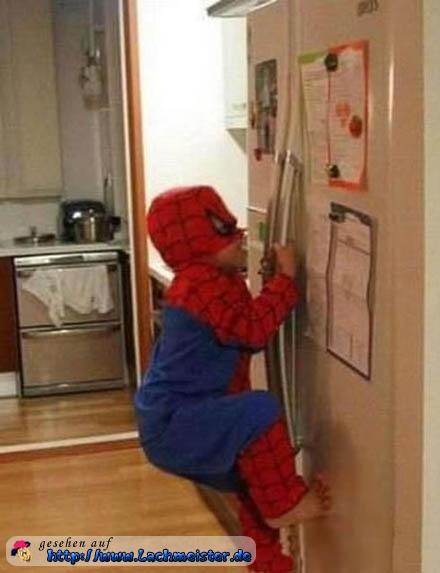 Der Junge Spiderman