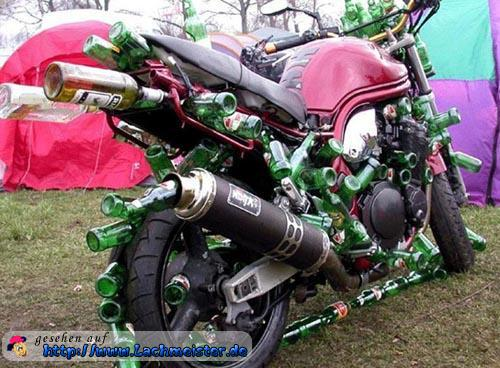 lustiges motorrad