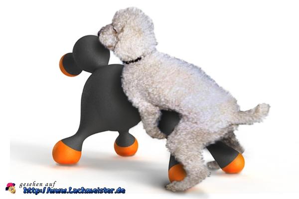 Gummipuppe für Hunde