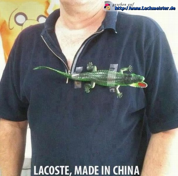 Lacoste - Made in China