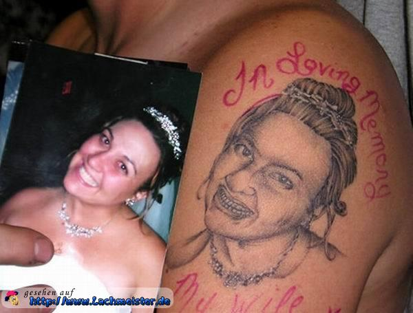 Tattoo vs. Vorlage